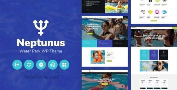 Neptunus 1.0.1 – Water & Amusement Park WordPress Theme