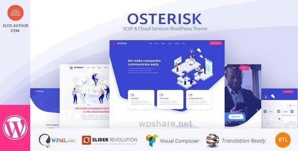 Osterisk 2.3 – VOIP & Cloud Services WordPress Theme