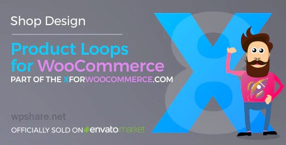 Product Loops for WooCommerce 1.6.1 – 100+ Awesome styles and options for your WooCommerce products