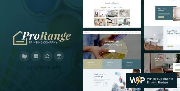 ProRange 1.5.1 – Painting & Renovation Construction Company WordPress Theme