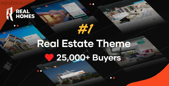 RealHomes 3.13.1 – Estate Sale and Rental WordPress Theme