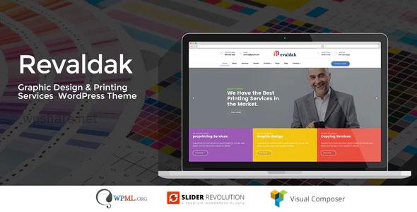Revaldak 2.3 – Printing Services WordPress Theme