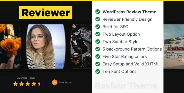 Reviewer 2.0 – WP Theme for Entertainment Reviews