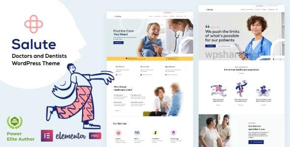 Salute Medical v33 – WordPress Theme
