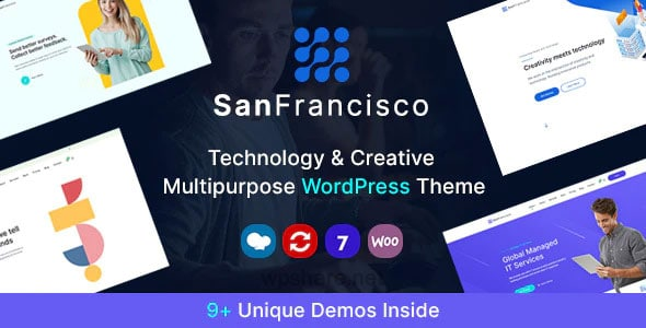 San Francisco 1.8 – IT Technology and Creative WordPress Theme