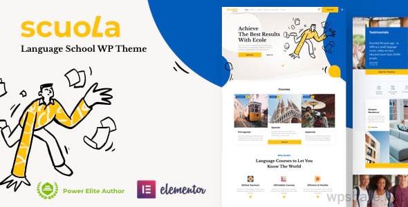 Scuola 5 – Language School WordPress Elementor