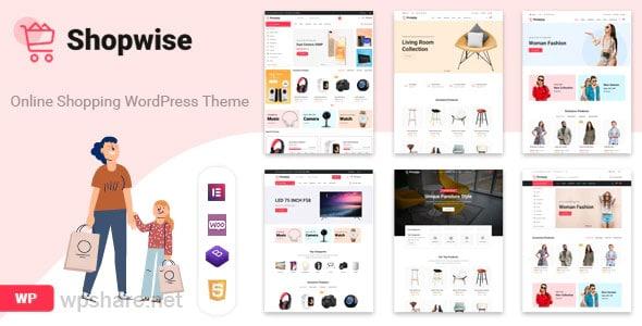 Shopwise 1.5.3 – Fashion Store WooCommerce Theme