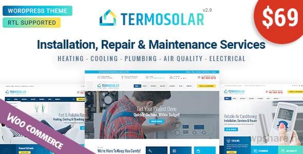 Termosolar 2.9 – Maintenance Services WordPress Theme
