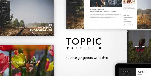 TopPic 4.0.5 – Portfolio Photography Theme