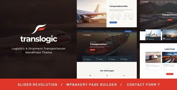 Translogic 1.2.2 – Logistics & Shipment Transportation WordPress Theme