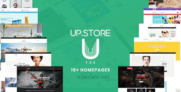 UpStore 1.3.5 – Responsive Multi-Purpose WordPress Theme