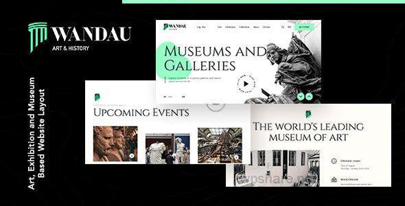 Wandau 1.0.0 – Art & History Museum WordPress Theme