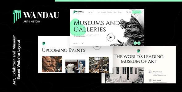 Wandau 1.0.0 – Art & History Museum WordPress Theme