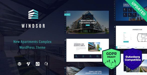 Windsor 1.8.5 – Apartment Complex / Single Property WordPress Theme