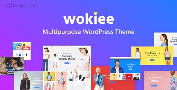 Wokiee 2.0 – Multipurpose WooCommerce WordPress Theme