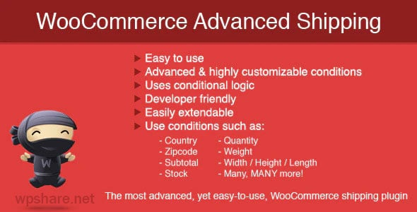 WooCommerce Advanced Shipping v1.0.14