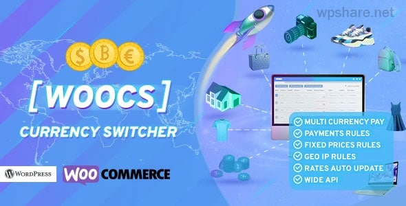 WOOCS – WooCommerce Currency Switcher v2.3.5