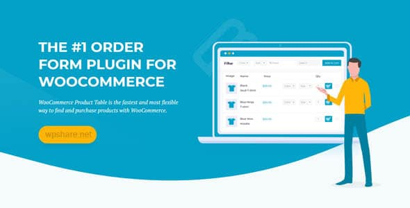 WooCommerce Product Table v2.9.1
