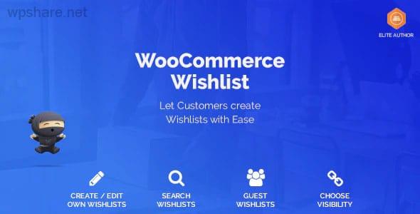 WooCommerce Wishlist v1.1.7