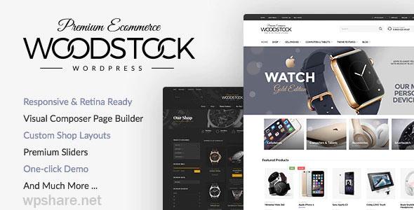 Woodstock 2.6 – Electronics Store WooCommerce Theme