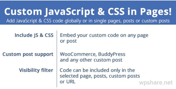 Custom JavaScript & CSS in Pages v3.2
