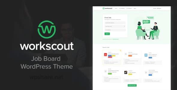 WorkScout 2.1.03 – Job Board WordPress Theme