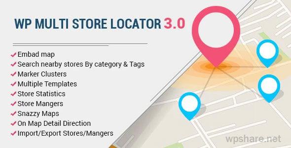 WP Multi Store Locator Pro v4.2.1