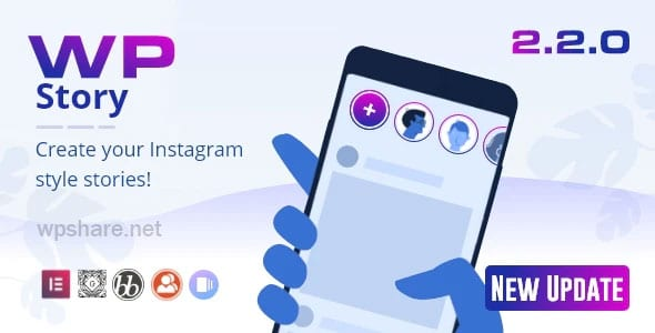 WP Story Premium 2.2.0 – Instagram Style Stories For WordPress