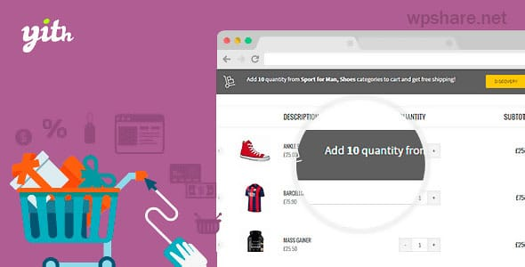 YITH WooCommerce Cart Messages Premium v1.8.1