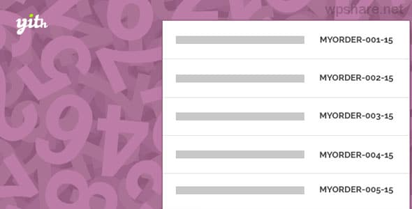 YITH WooCommerce Sequential Order Number Premium v1.2.12