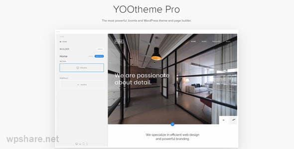 YOOtheme Pro 2.4.4 – WordPress Theme and Page Builder