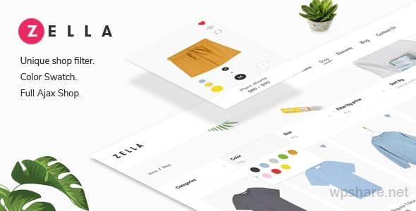 Zella 2.2.5 – WooCommerce AJAX WordPress Theme