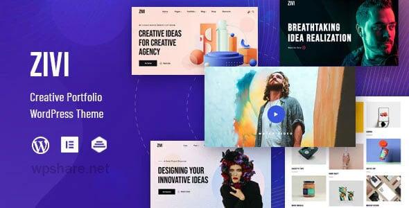 Zivi 1.0.2 – Contemporary Creative Agency Theme