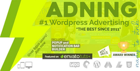 Adning Advertising 1.6.1 – Professional, All In One Ad Manager for WordPress