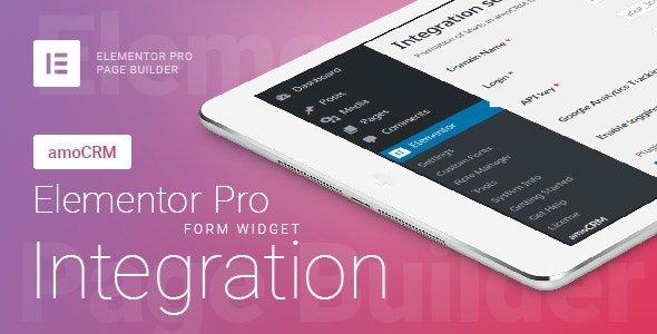 Elementor Pro Form Widget – amoCRM – Integration v2.4.6