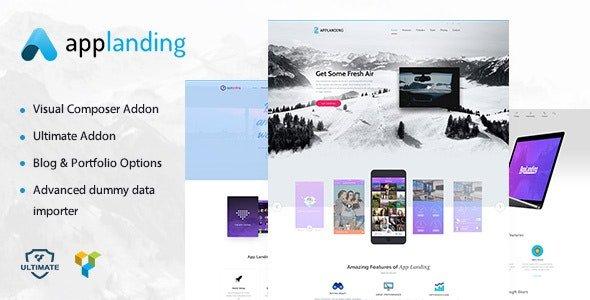 App Promotion 1.8 – One Page App Landing Promotion Theme