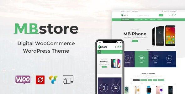 MBStore 2.0 – Digital WooCommerce WordPress Theme
