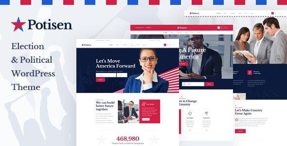 Potisen 1.0.0 – Election & Political WordPress Theme