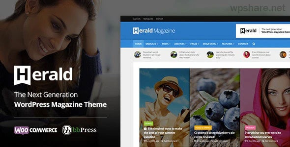 Herald 2.5 – Newspaper & News Portal WordPress Theme