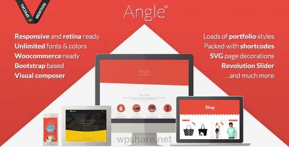 Angle 1.18.17 – Flat Responsive Bootstrap MultiPurpose Theme