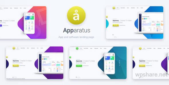 Apparatus 4.1.0 – A Multi-Purpose One-Page Portfolio and App Landing Theme