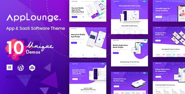 AppLounge 1.1.3 – Multipurpose SaaS WordPress Theme