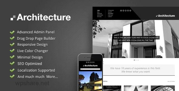 Architecture 1.2.0 – WordPress Theme