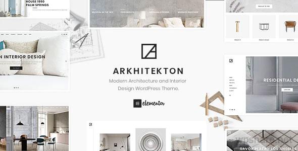 Arkhitekton 1.2.5 – Modern Architecture and Interior Design WordPress Theme