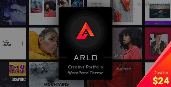 Arlo 3.6 – Portfolio WordPress Theme