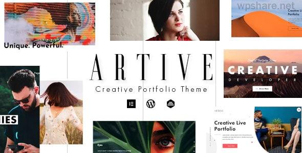 Artive 1.1.0 – Creative Portfolio Theme