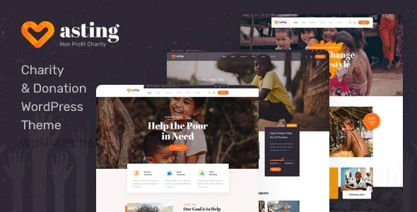 Asting 1.0.3 – Charity & Donation WordPress Theme