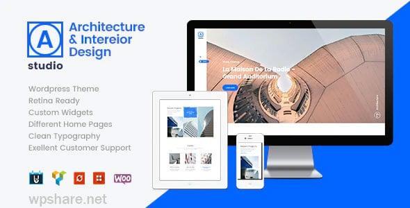 A.Studio 1.2.2 – Interior Design and Architecture WordPress Theme