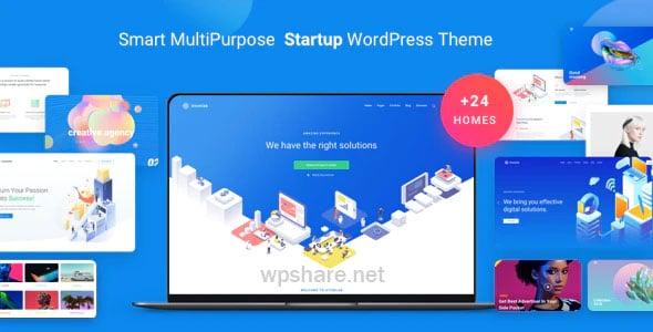Atomlab 1.9.0 – Startup Landing Page WordPress Theme