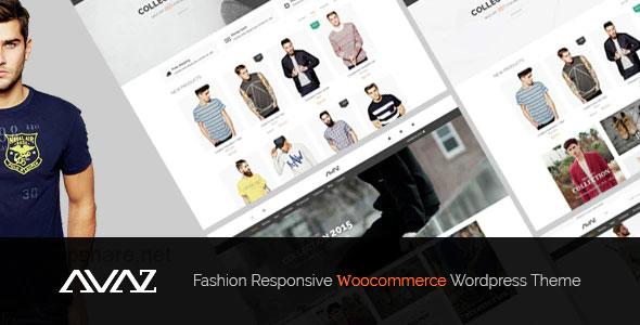 Avaz 2.6 – Fashion Responsive WooCommerce WordPress Theme